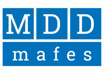 Logotip in izdelava spletne strani www.mdd-mafes.com